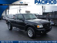 PRE-OWNED RANGER SUPERCAB XLT 4x4!!! One Owner!!! Local