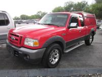 Climb inside the 2008 Ford Ranger! A great vehicle and
