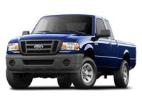 VERY NICE ONE OWNER FORD RANGER EXTRA CAB PICKUP TRUCK