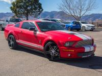 Torch Red exterior and Charcoal interior, Shelby GT500