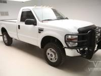 This 2008 Ford Super Duty F-250 XL Regular Cab 4x4 with