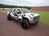 2008 FORD SUPER DUTY F-250 SINISTER 6.4L CUSTOM. Wheels