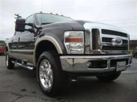This 2008 Ford Super Duty F-250 Lariat 4x4 Truck