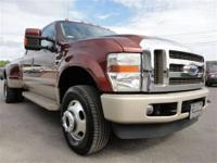 This 2008 Ford Super Duty F-350 Lariat 4x4 Truck