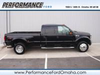 Lariat trim. Leather, iPod/MP3 Input, Diesel, Dual Zone