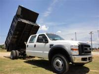 THIS 2008 FORD F-550 XL JUST CAME IN. THIS 6.4L