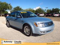 2008 FORD TAURUS Our Location is: Autoway Lincoln -