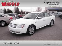 Recent Arrival!2008 Ford Taurus Limited  Options:  263