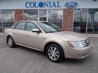 Save thousands from new!! This sharp, 2008 Ford Taurus