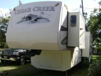 2008 Forest River Cedar Creek 34RLSA, Length: 34, 3