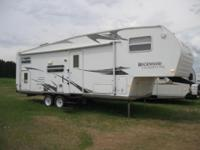 2008 FOREST RIVER ROCKWOOD FIFTH WHEEL TRAILER Our