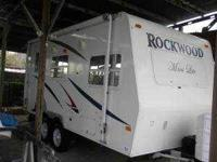 2008 Forest River Rockwood Mini Lite Travel Trailer