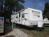 Right here we have a 2008 Forest River RV Rockwood -