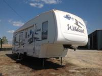 The pre-enjoyed 2008 Forest River Wildcat Fifth-Wheel