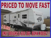 2008 Woodland Stream Wildwood 27BHBS - $12,995.