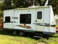 2008 Frontier Explorer S185 Travel Trailer. This Travel