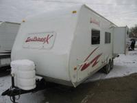 for sale is a 2008 Funfinder 250BHS Travel Trailer with