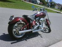 2008 HARLEY DAVIDSON ROCKER C In 2008 there were less