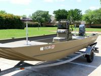 GOOD LUCK BIDDING.VERY NICE PREVIOUSLY OWNED G3 BOAT