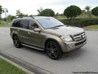 2008 MERCEDES BENZ GL320 CDI DIESEL WITH 81650 MILES.