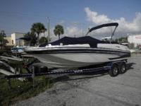 This is a 2008 Glastron 17 Foot with an Evinrude E-Tec