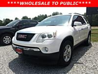 Check out this 2008 GMC Acadia SLT2 while we still have