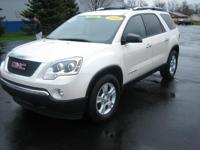 2008 GMC Acadia 2nd Row Bucket Seats, 4-Wheel ABS,