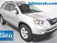 Acadia SLT, OnStar, SUNROOF, MOONROOF, DVD, Trailer