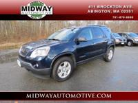 Clean CARFAX. Deep Blue Metallic 2008 GMC Acadia SLE-1