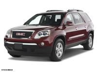 This 2008 GMC Acadia SLE-1 boasts features like a rear