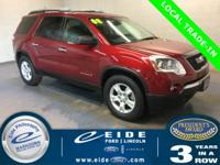 2008 GMC Acadia SLE-1 Highlighted with,Accident Free,