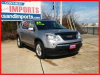 Big grins! All Wheel Drive* This gas-saving Acadia will
