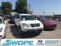 Recent Arrival! This 2008 GMC Acadia SLT-1 in Summit