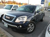 We are excited to offer this 2008 GMC Acadia. How to