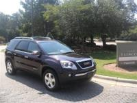This 2008 GMC Acadia 4dr FWD 4dr SLE1 SUV features a