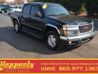Clean CARFAX. This 2008 GMC Canyon, Low Mileage, Tow