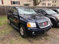 Clean CARFAX. Blue 2008 GMC Envoy 4WD 4-Speed Automatic
