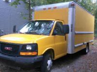 2008 GMC G3500 Box Truck. 2008 GMC G3500 Box truck in