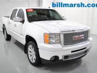 Sierra 1500 Denali, 4X4, White, Leather, Adjustable