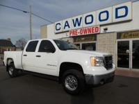 Options:  2008 Gmc Sierra 2500Hd Sle1|White|Trailering