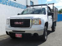 Options:  2008 Gmc Sierra 2500 Work Truck|White|0