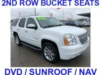 ***2ND ROW BUCKETS***, sunroof, ***DVD PLAYER***,