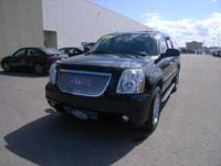 Onyx Black outside, Yukon XL Denali trim. 3rd Row Seat,