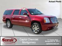 One Owner Trade In 2008 GMC Yukon XL Denali! Guaranteed