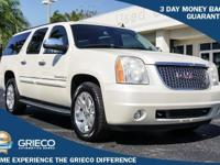 Recent Arrival! 2008 GMC Yukon XL SLT 1500 in White,