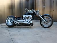 Ground up custom tribute bike for the Texas Ranger Hall