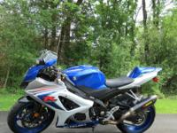 2008 GSX-R 1000. I am the original owner and it has