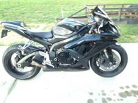 Mint condition 08 GSXR 600! I never ride it anymore and