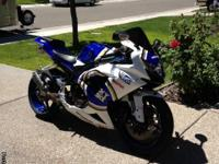 2008 Gsxr with 12000.00 miles. Lot's of upgrades such