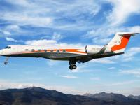 This 2008 Gulfstream G550 has only 3095 hours total
